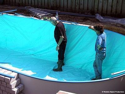 Inbouw liner bouw zelf je zwembad for Inbouw zwembad zelf bouwen