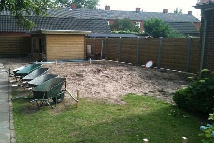 Stappenplan voor zelfbouw zwembad for Ondergrond zwembad tuin