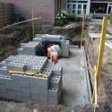 bouw zwembad