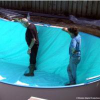 Liner voor zwembad