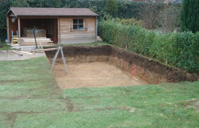 2 zwembad bouw zelf je zwembad for Bouw zelf je zwembad