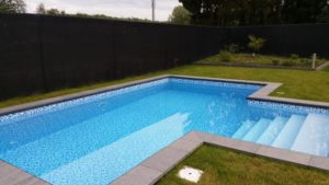 Zwembad met mozaïek folie 7