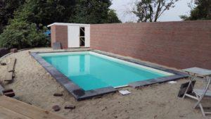 aanbouw zwembad