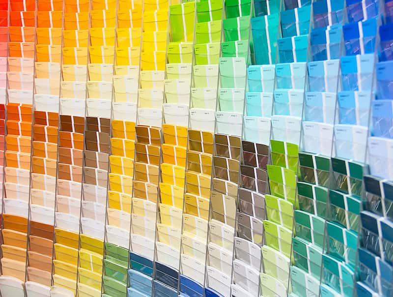 verschillende kleuren zwembadafdekking